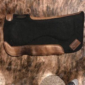 "1"" thick contour impact gel saddle pad"